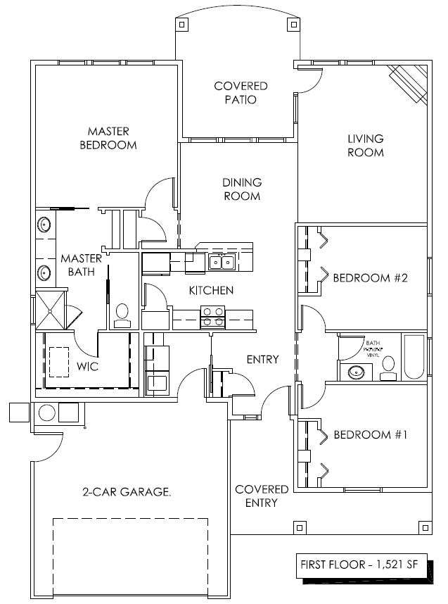 Juniper ii design build idaho for Juniper floor plan